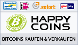 HappyCoins - Buy bitcoins - Sell bitcoins